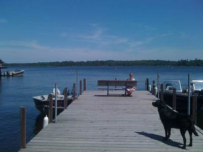 lake vermilion dock